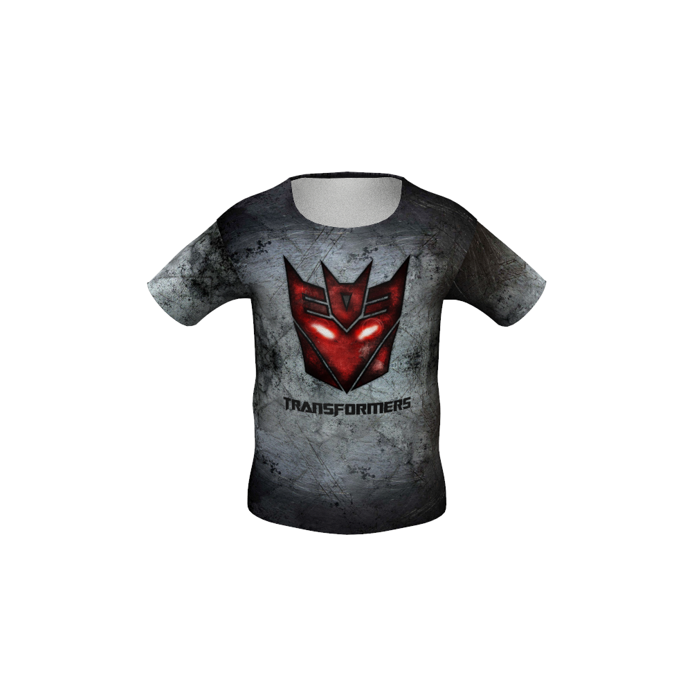 Transformers Grey Kid's T-shirt