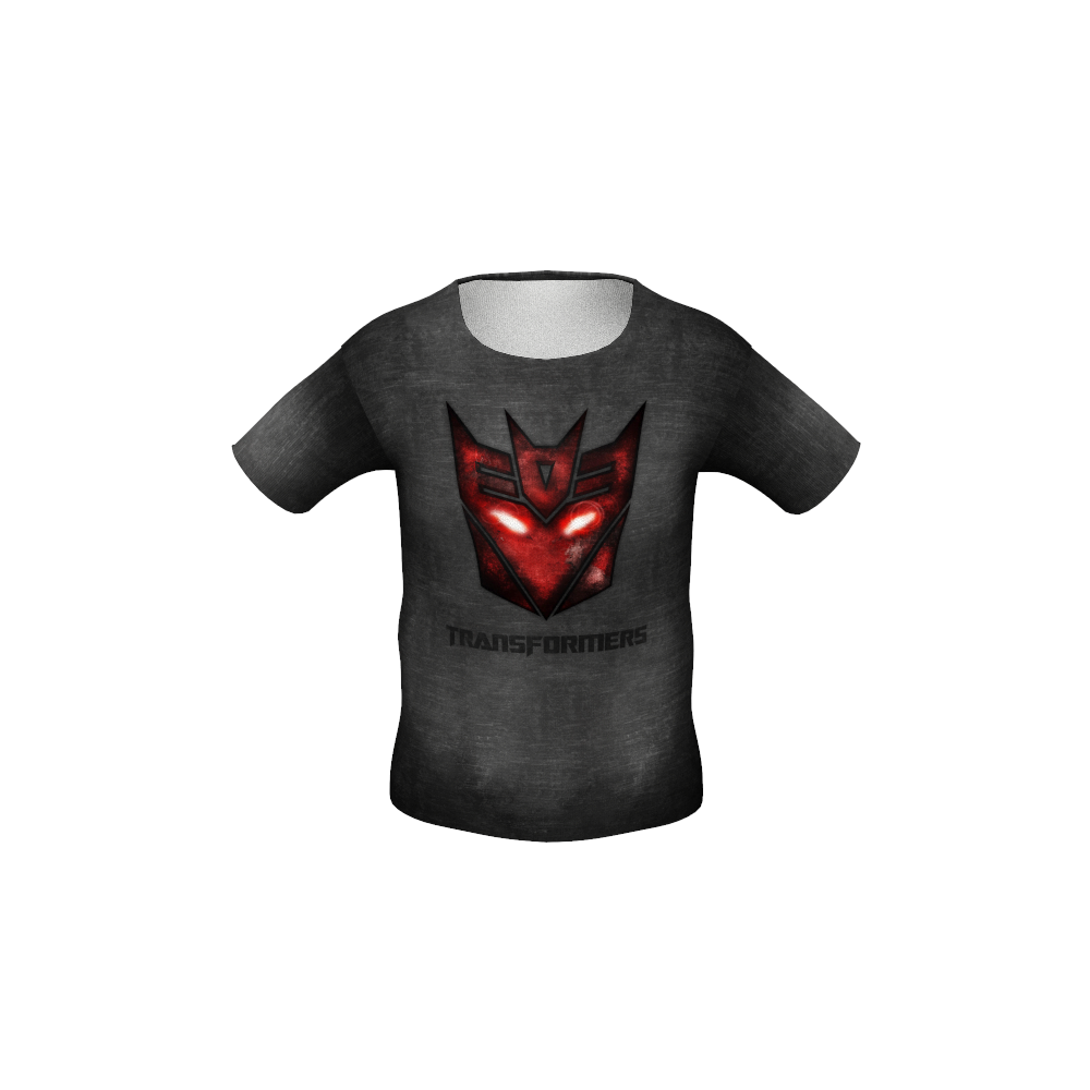 Transformers Black Kid's T-shirt