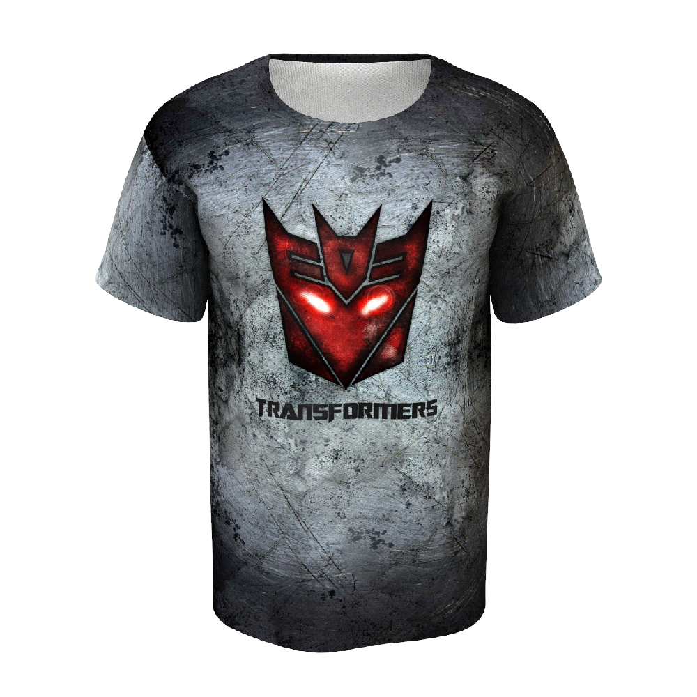 Transformers Grey Men's T-shirt