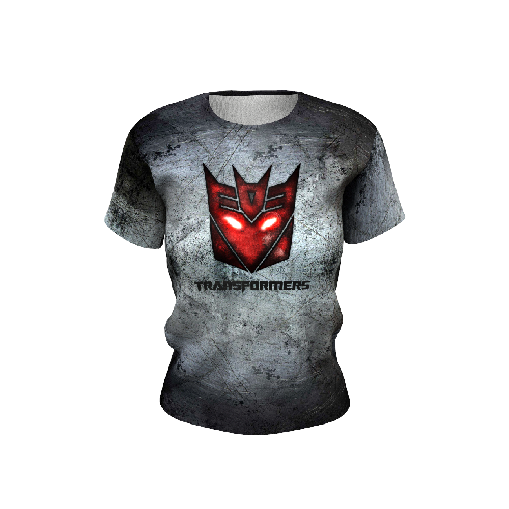 Transformers Grey Women's T-shirt