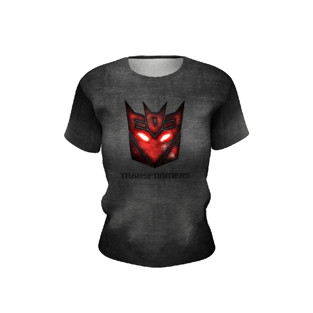 Transformers Black Women's T-shirt