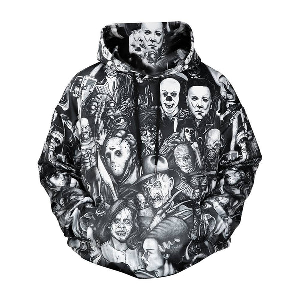 Men's Hoodie - All Horror Movie Hoodie