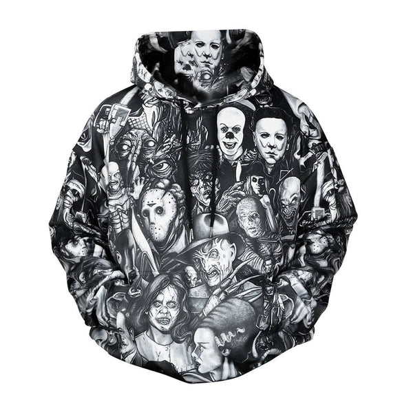 Women's Hoodie - All Horror Movie Hoodie