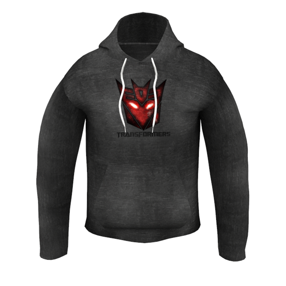 Transformers Black Kid's Hoodie