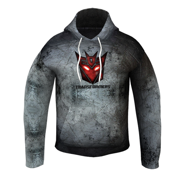 Transformers Grey Kid's Hoodie