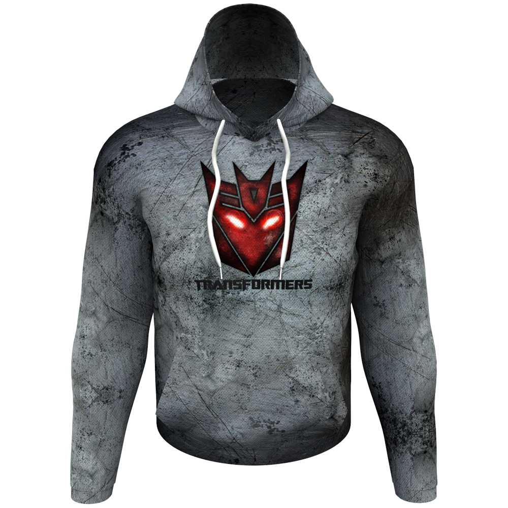 Transformers Grey Women's Hoodie
