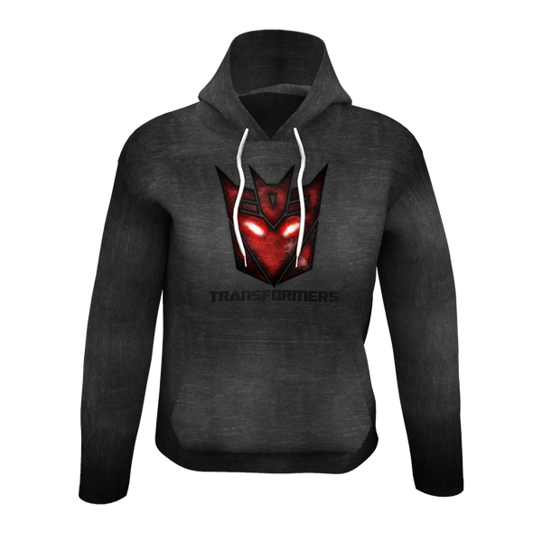 Transformers Black Men's Hoodie