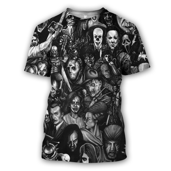 Men's T-Shirt - All Horror Movie T-Shirt