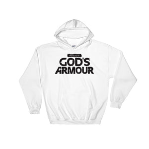 (Unisex) Protected By God's Armour - Hooded Sweatshirt