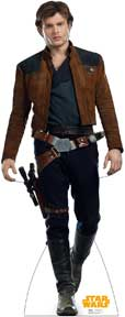 HAN SOLO CARDBOARD STAND UP