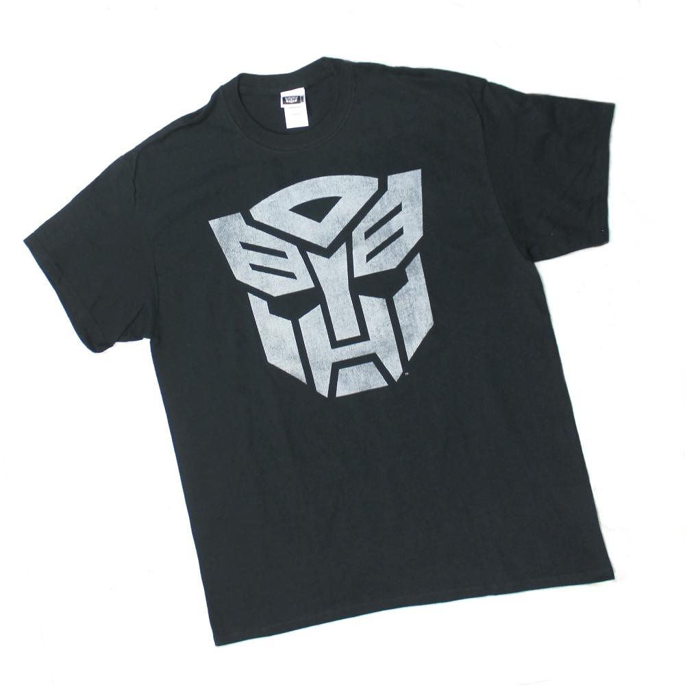 MENS AUTOBOTS TRANSFORMERS DECEPTICONS MOVIE BLACK TEE T SHIRT