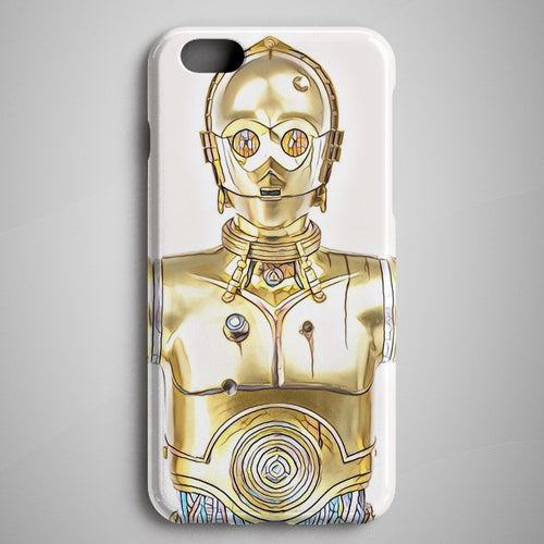 Star Wars iPhone 7 Case C-3PO Samsung Galaxy S8