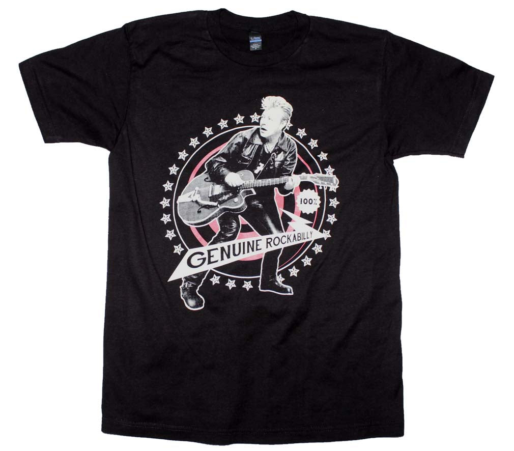 Brian Setzer Genuine Rockabilly T-Shirt