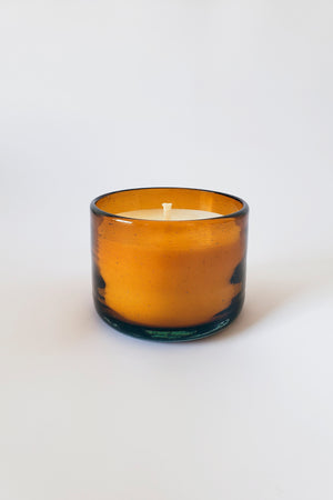Amber CREATION Healing Candle