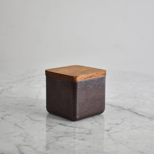 """Cofre"" Copper and Wood Container"