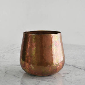 Magnolia Copper Vase