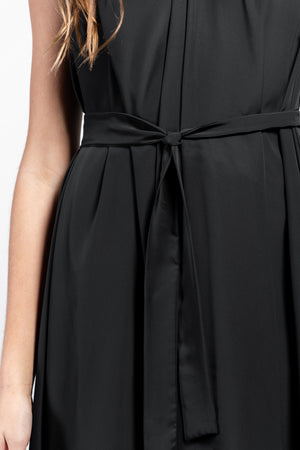 Rea Crêpe de Chine Midi Wrap Dress