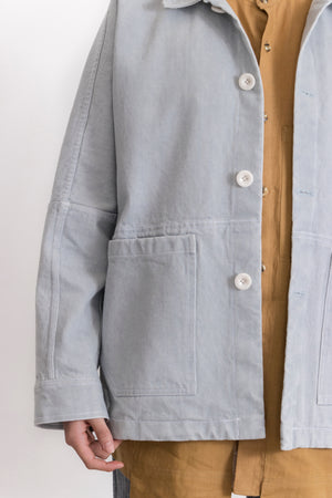 Hydrogen Washed Denim Jacket