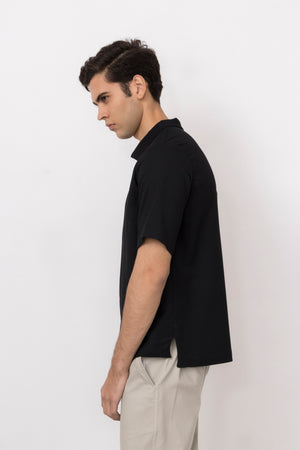Radon Lightweight Wool Piqué Polo Shirt