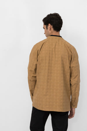Mercury Cotton Woven Lattice Jacket