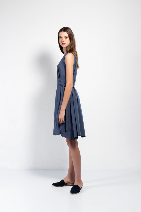 Mayer Cotton Side Tie Dress