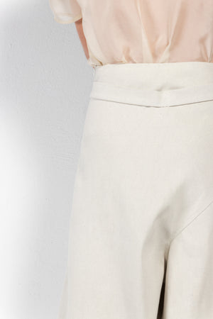 Danao Denim Wide Leg Wrap Pants