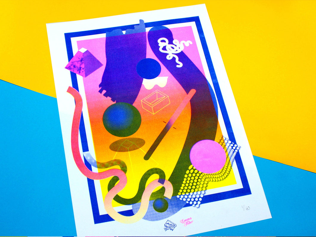 Special Edition Co. x Emma Fisher A3 Riso Print