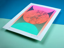 Load image into Gallery viewer, Sphere | A3 Screen Print