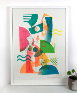 Large Kandy screen print