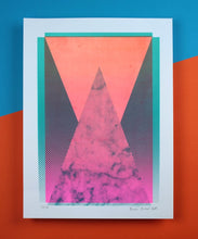 Load image into Gallery viewer, Pyramid | A3 Screen Print