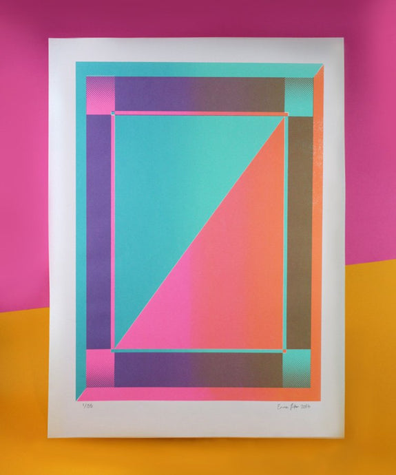 A2 Divided screen print