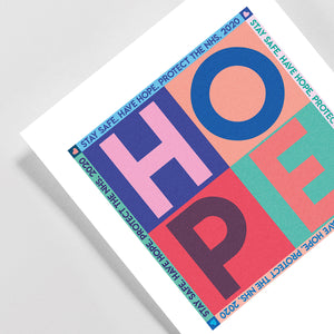 NEW A3 HOPE Giclée print