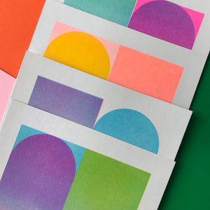 NEW A5 Gradient Riso Prints