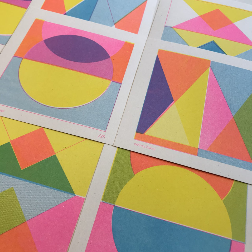 NEW EDITION Mini riso print set
