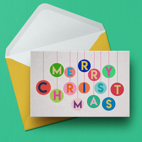 A6 Christmas card pack