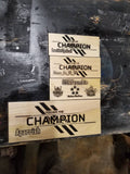 Apex Legends Champion Plaque 6""