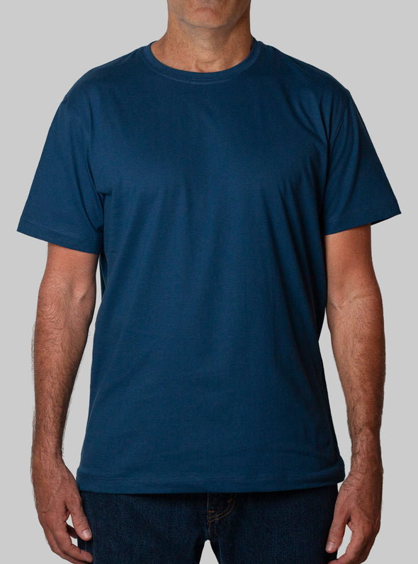 DEEP BLUE ORGANIC T SHIRT