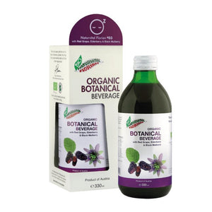Naturvital Florian® #03: Organic Red Grape, Elderberry and Black Mulberry (330 ml)