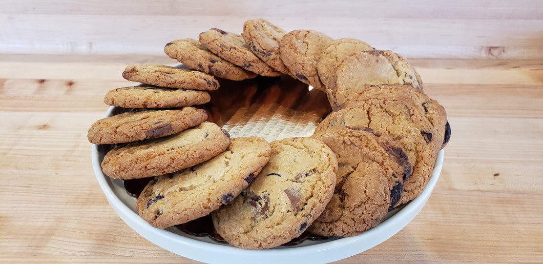 Chocolate Caramel Cookies - Bursting with Imported French Chocolate