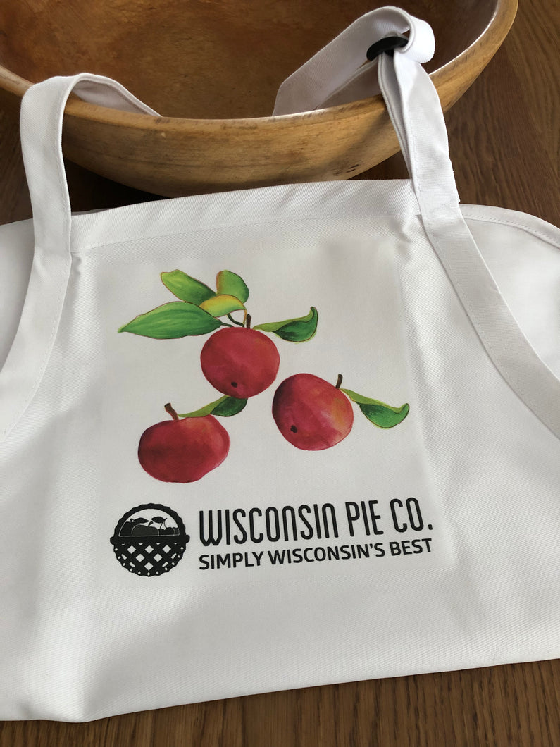 Apron - Apples - A Wisconsin Pie Co. Exclusive Design