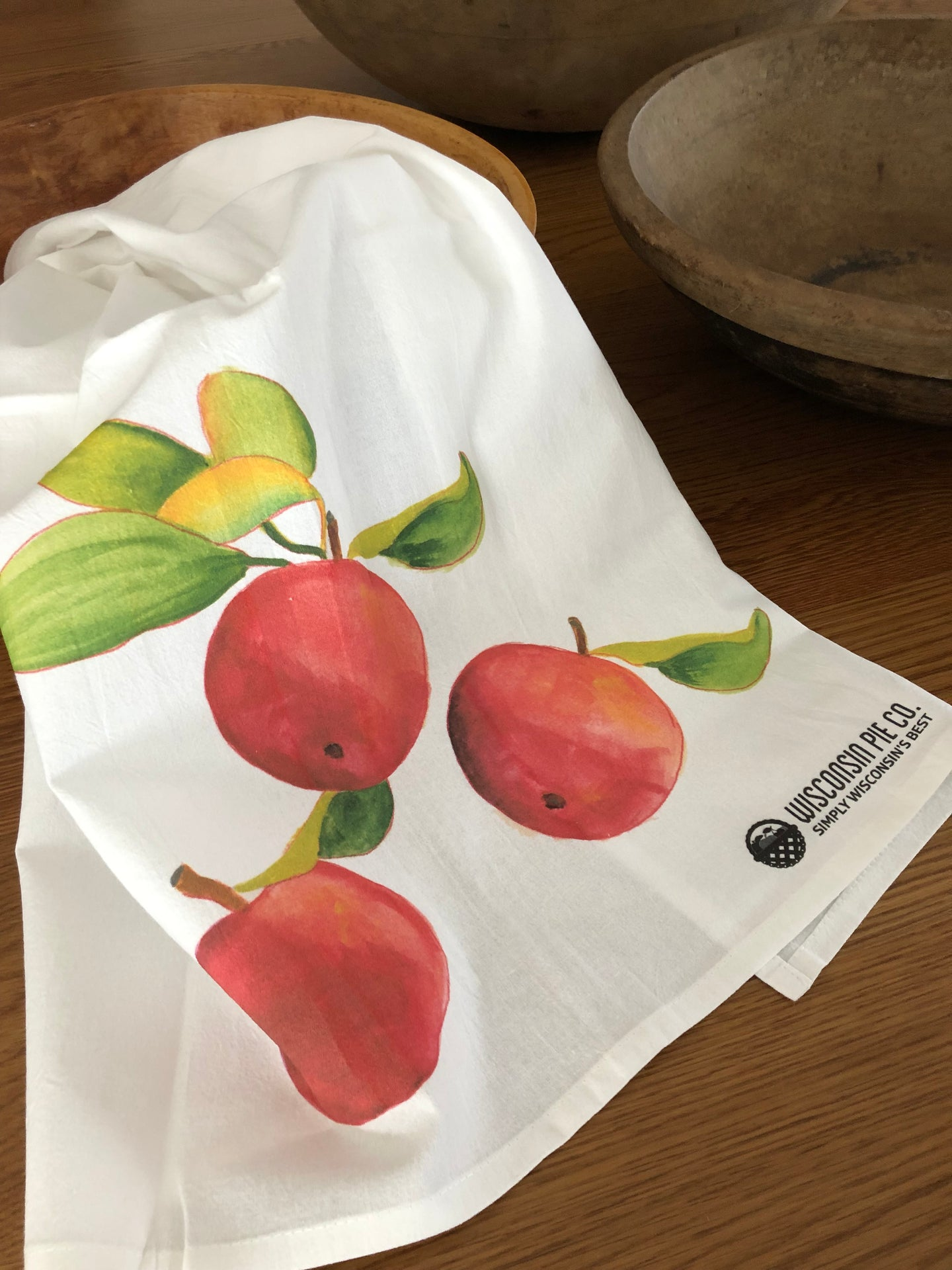 Classic Tea Towel - 3 Apples