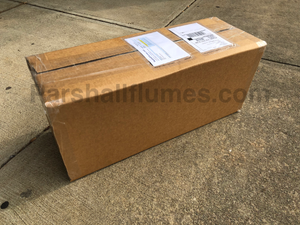 2-inch parshall flume boxed for shipment