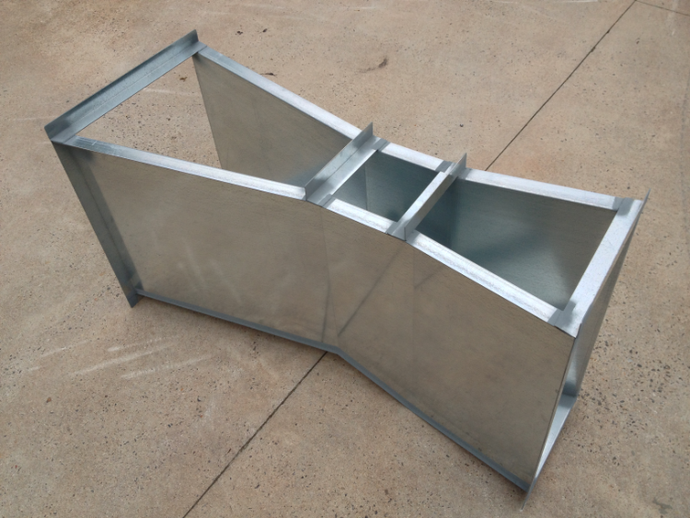 galvanized steel parshall flume