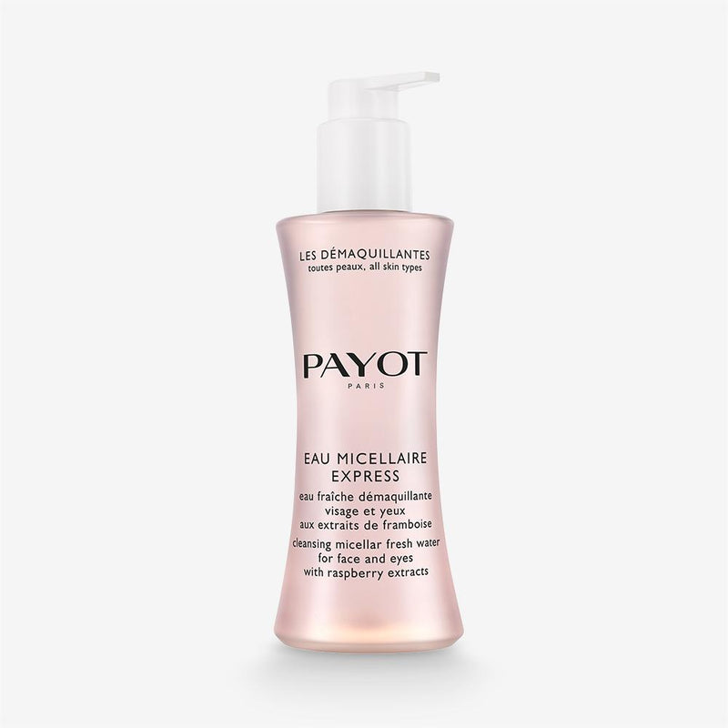 Eau Micellaire Express Payot Refreshing Make-Up Removing Water For Face And Eyes With Raspberry Extracts