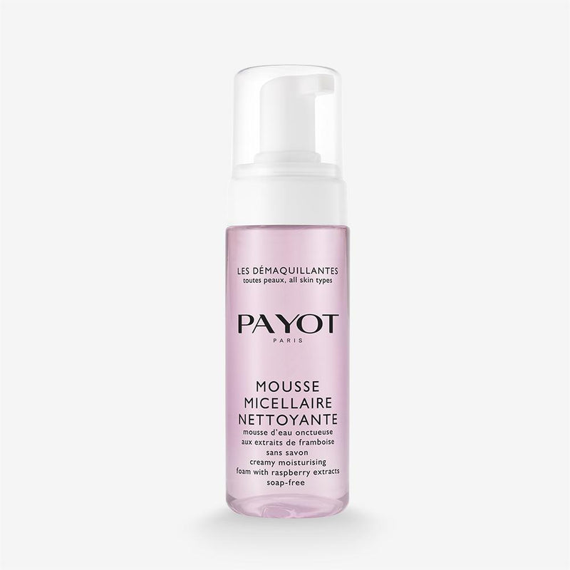 Mousse Micellaire Nettoyante Payot Creamy Moisturising Foam With Raspberry Extracts Soap-Free