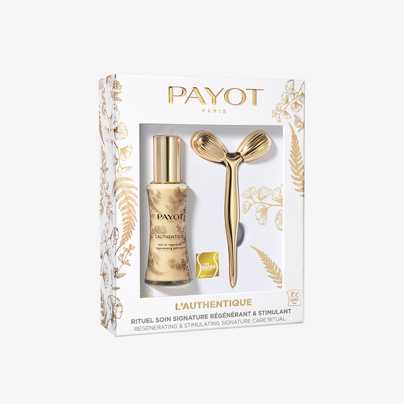Holiday Set - L'Authentique - Regenerating gold care + Free Face Roller