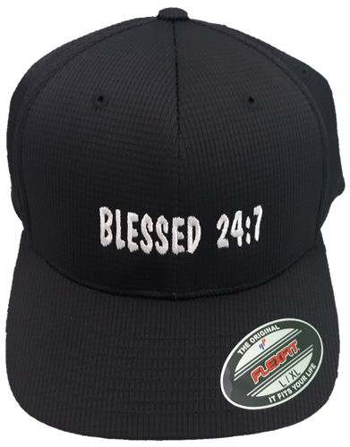 Blessed 24:7 Hats Black/Grey