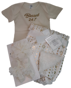 Blessed 24:7 Baby Blanket Gift Set