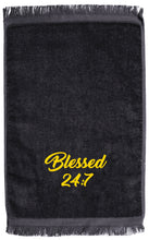 Load image into Gallery viewer, Blessed 24:7 GREEK Hand Towels