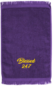 Blessed 24:7 GREEK Hand Towels